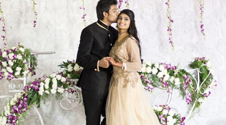 Ashwin & Madhu | Wedding invite
