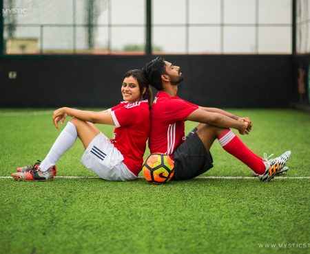 Sushil & Mona | Football Theme