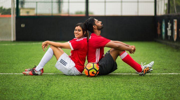 Sushil & Mona   Football Theme