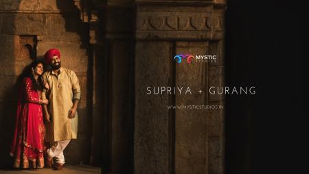 Supriya & Gurang | Wedding Teaser | Mystic Studios