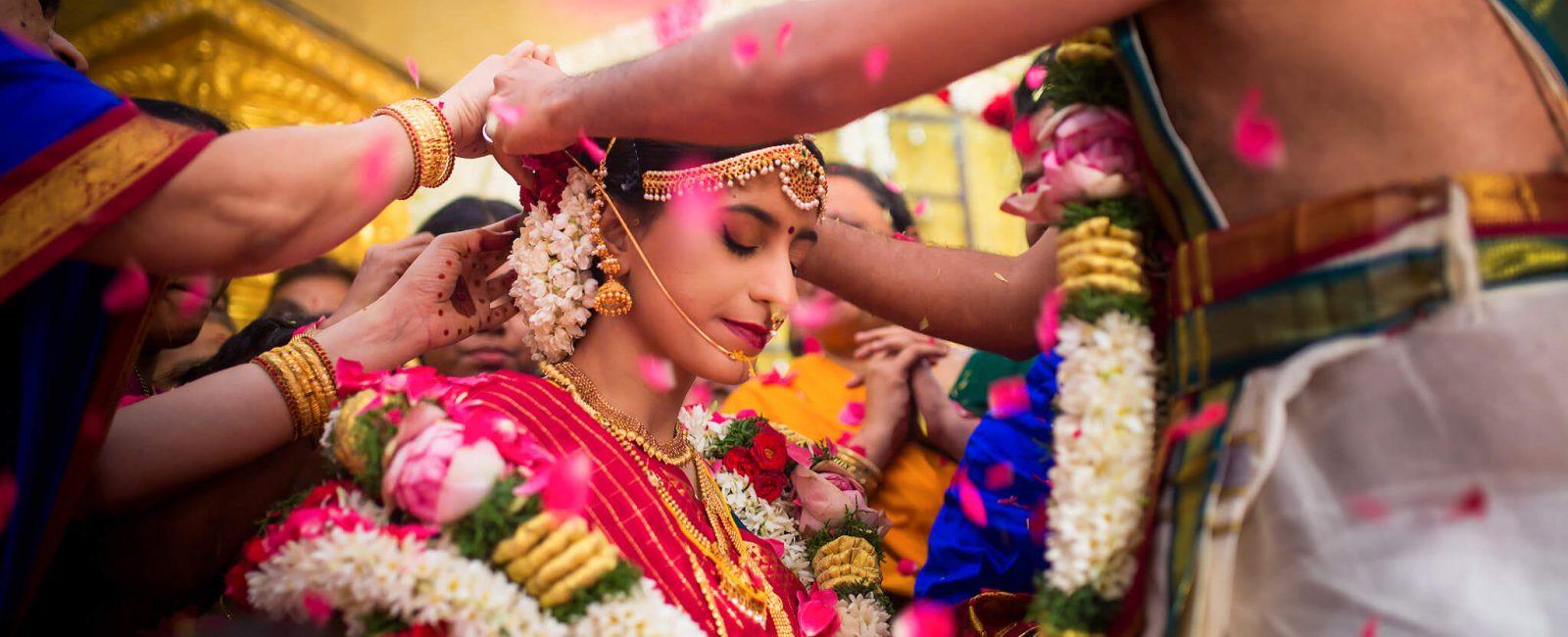 Praveen & Shrinithi   Tamil Brahmin Wedding