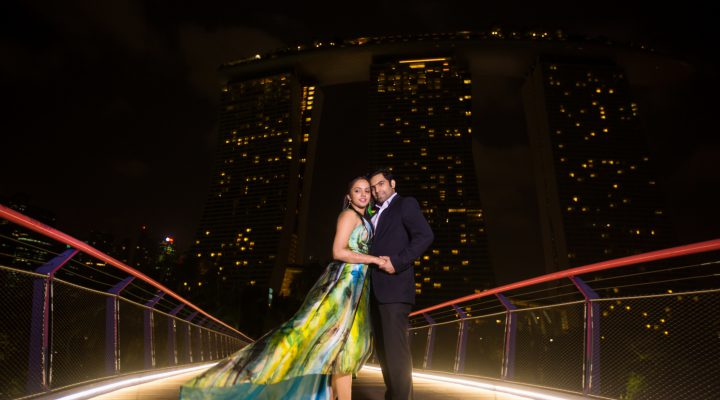 Fairytale Wedding at Singapore