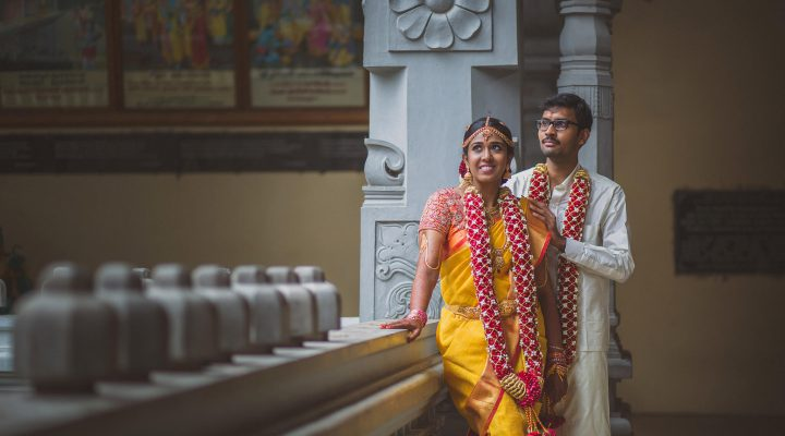 Intimate South Indian Wedding