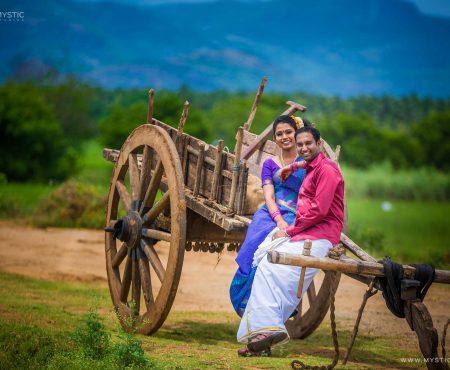 Village Concept Couple Shoot | Vijay & Prashipa