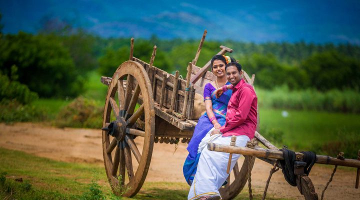 Village Concept Couple Shoot | Vijay & Prashipa