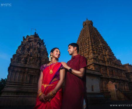Gautam & Prathiba | Tanjore Big Temple
