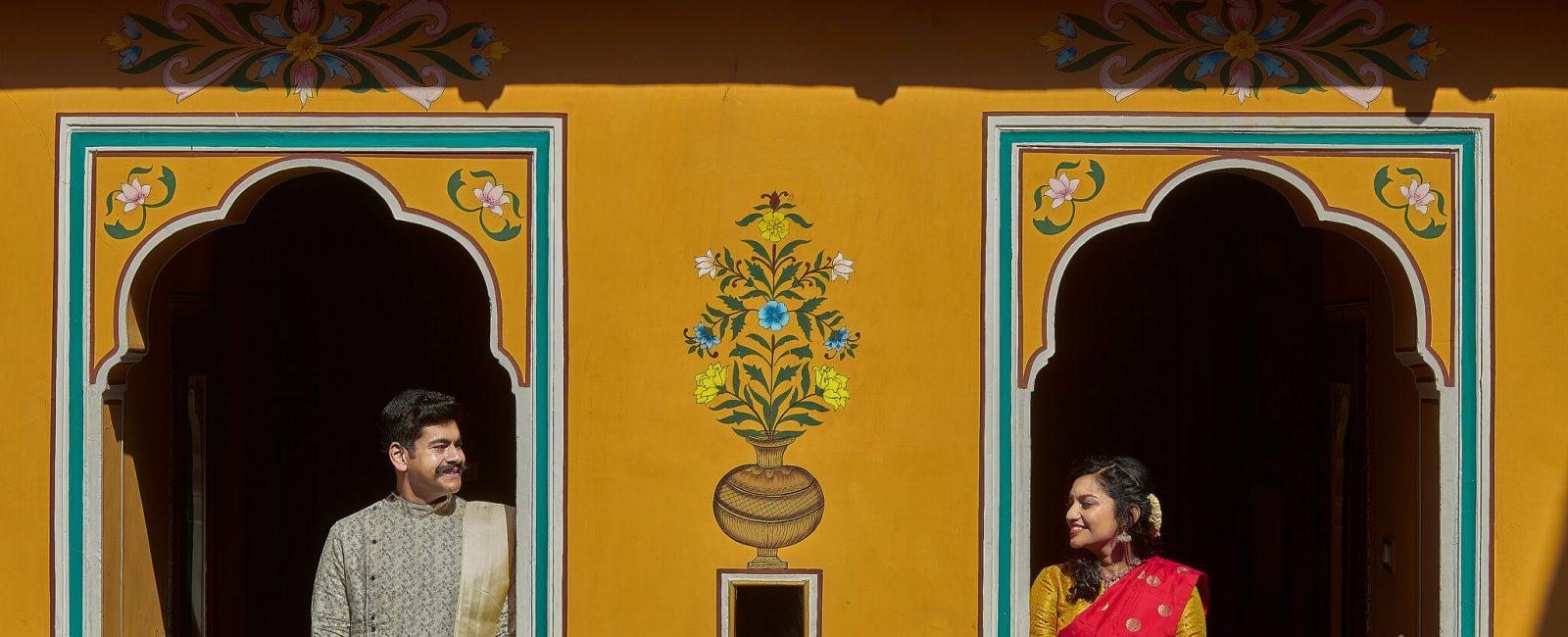 Vibrant wedding of 2 Families at Jaipur