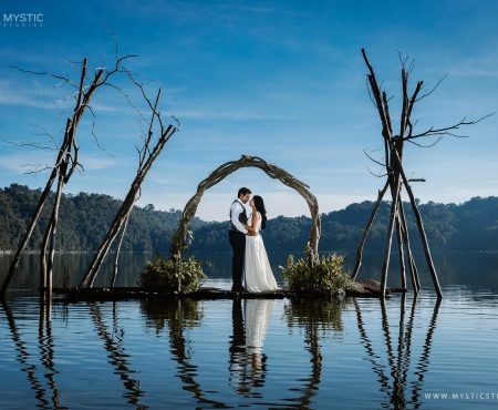 Beautiful Bali Post Wedding Shoot