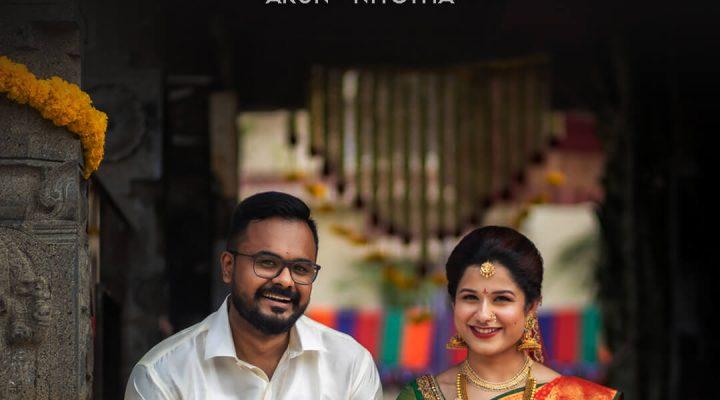Arun Niyotha Wedding