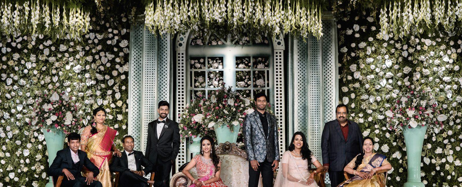 Lavishly exorbitant Wedding of Syam & Niranjana