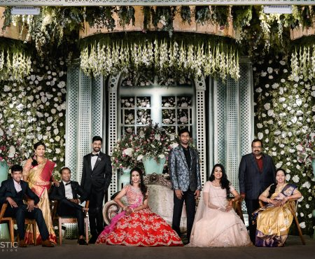 Lavishly exorbitant Wedding of Syam & Niranjana