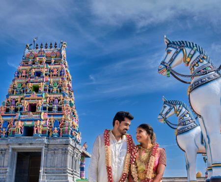 An Exquisite Temple Wedding in Karur