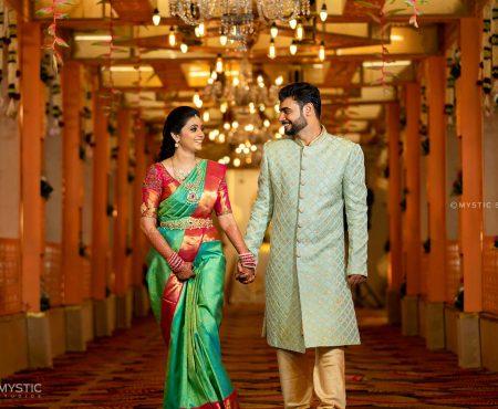 Home Transformed Like A Wedding Venue – An Intimate  Pandemic Wedding