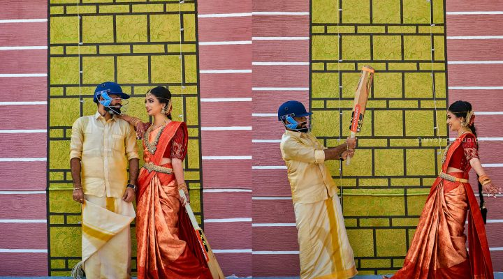 A Dhoni Fanatic Groom And His Spectacular Wedding
