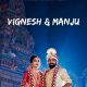 Colourful Temple Wedding